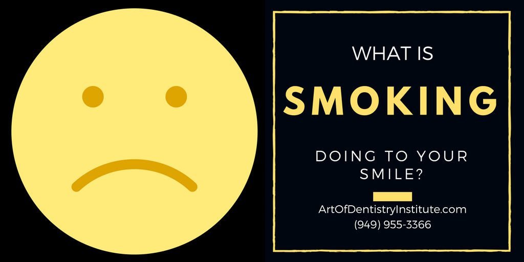 What is Smoking really doing to your smile