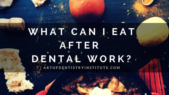 Foods to eat after dental surgery