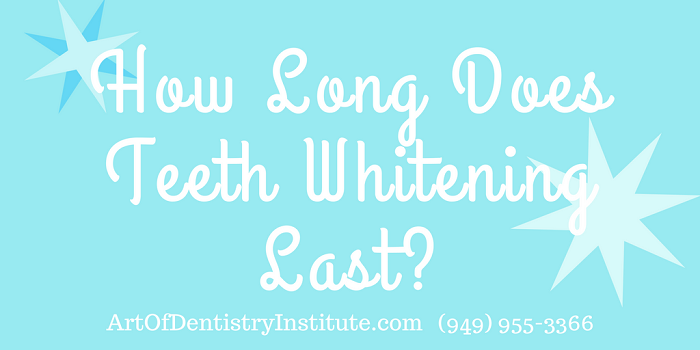 How Long Does Teeth Whitening Last