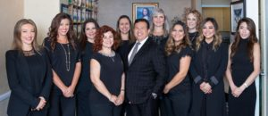 Cosmetic dentistry professional team